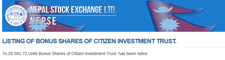 Citizen Investment Trust