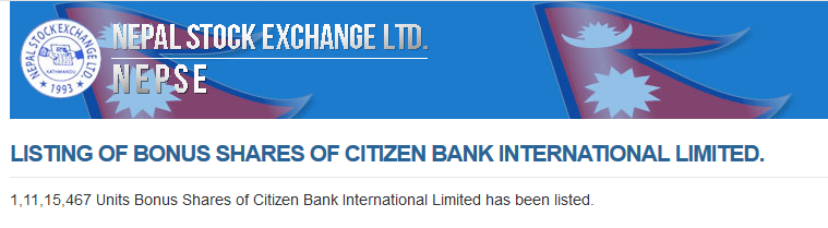 Citizen Bank International Limited