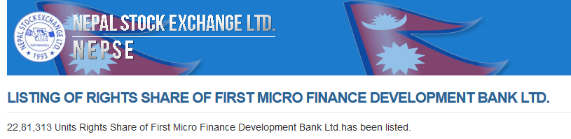 first microfinance