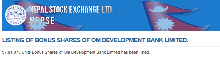 Om Development Bank