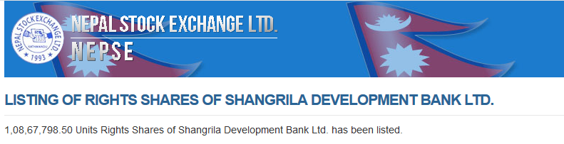 Shangrila Development Bank